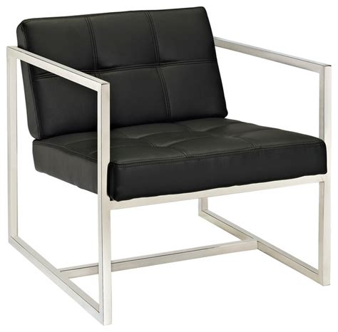 hover lounge chair in black modern armchairs and
