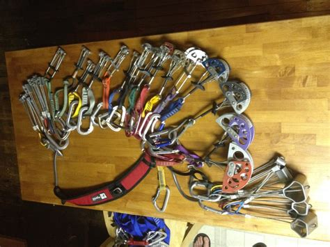 Alpine Climbing Rack by Used Trad Rack What S It Worth