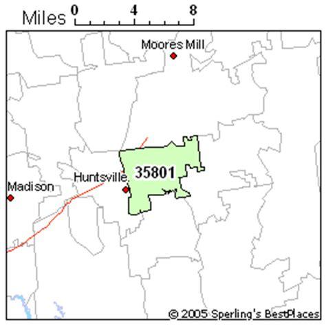 zip code map huntsville al best place to live in huntsville zip 35801 alabama