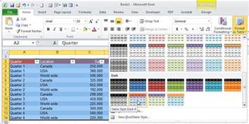 10 secrets for creating awesome excel tables pcworld
