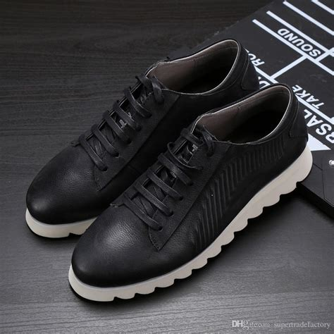 Sepatu Original Mr Joe Wingtif Brown mens dress shoes with white soles