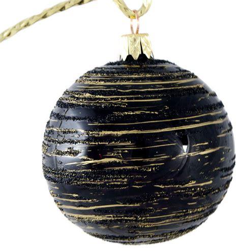 black and gold ball no 1 traditional christmas