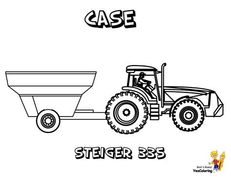 tractor coloring pages rugged tractor coloring pages yescoloring free