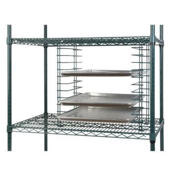 Slide Wire Shelving Focus Foodservice Fwts12ch Chromate Wire Tray Slide