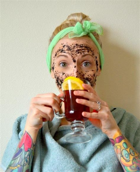 black tea mask diy give yourself a pering with 15 diy tea based