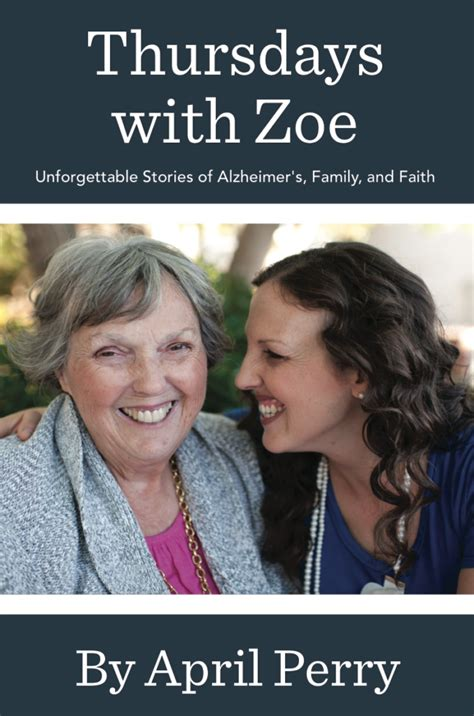 thursdays at eight a novel thursdays with zoe unforgettable stories of alzheimer s