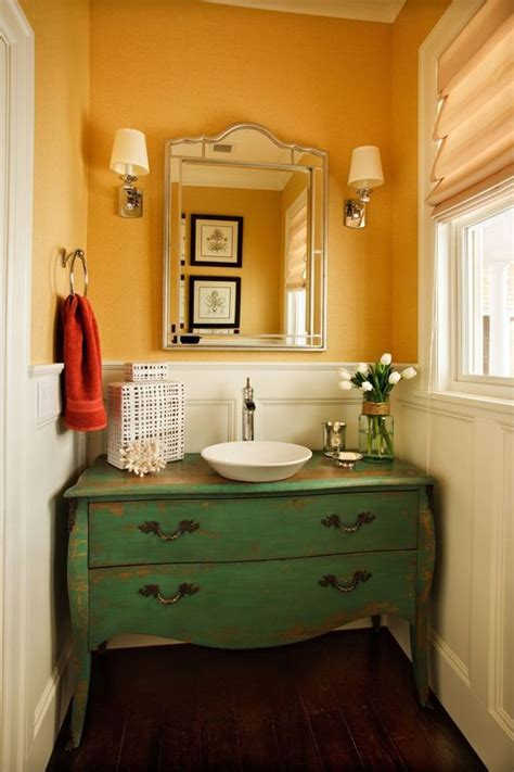 great powder rooms eclectic powder room with pagosa waterfall vessel faucet