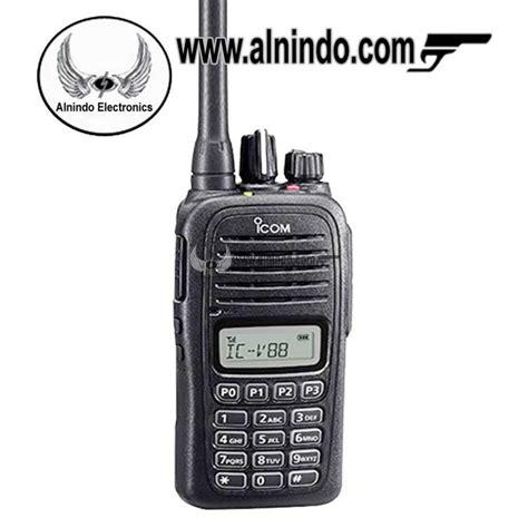 Ht Handy Talky Icom Ic V88 Vhf Grosir Murah Meriah Mewah ht icom v88
