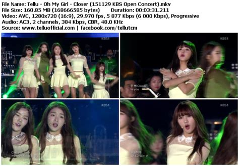 download mp3 closer oh my girl download perf oh my girl closer kbs open concert 151129