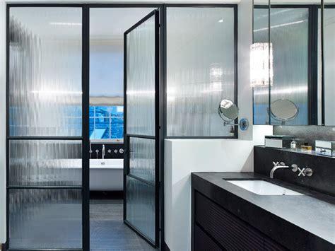chic ways   black framed shower doors