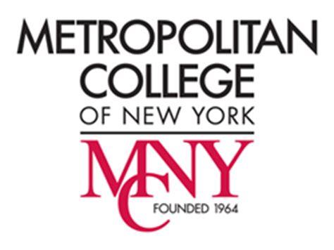 Metropolitan College New York Mba by Profile For Metropolitan College Of New York Higheredjobs