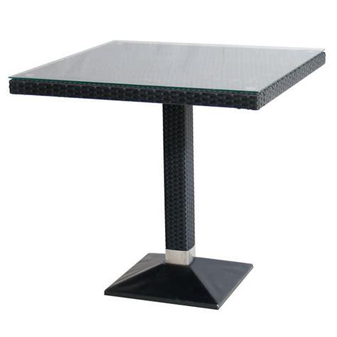 tische outdoor tisch verona 70x70cm polyrattan outdoor tische outdoor