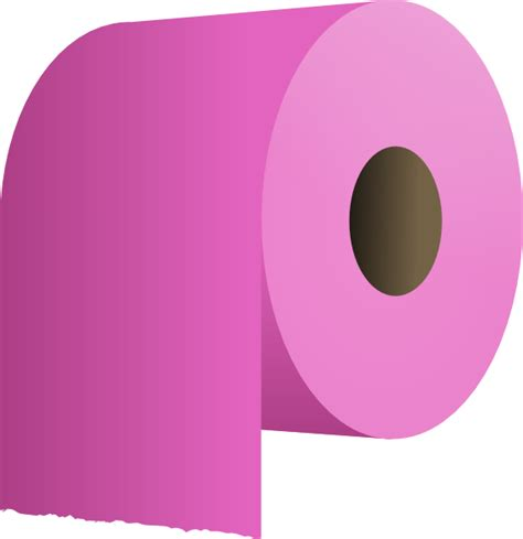 Toilet Paper - toilet paper roll clip at clker vector clip