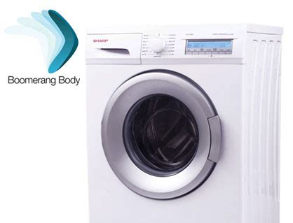 Mesin Cuci Sharp Model Es F800s sharp mesin cuci front loading boomerang series 8 kg es