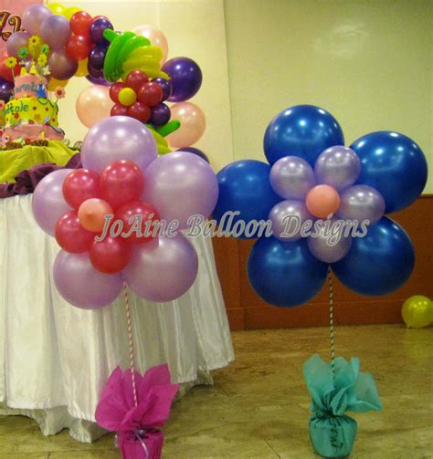 stage joaine balloon designs