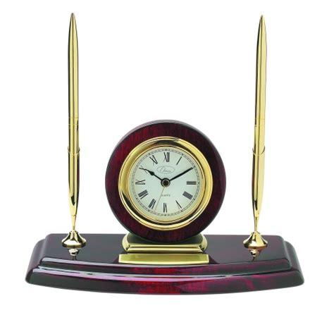 Pen Stand Clock 16034 ambassador pen stand with clock pens accessories