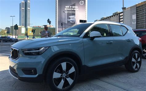 volvo 2019 electrique world debut of the 2019 volvo xc40 the car guide
