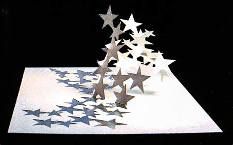 laser cut popup card template stardust popup card shop