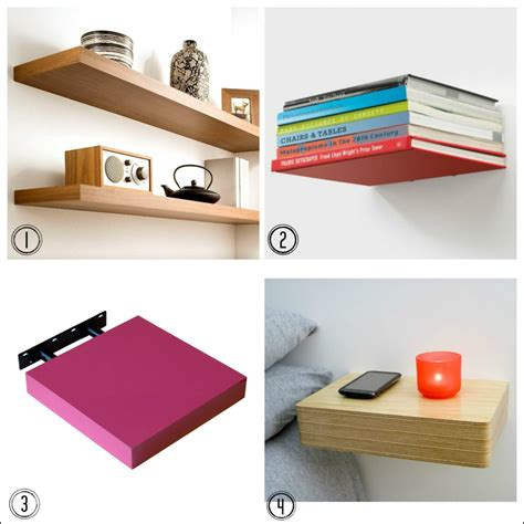 hang a floating shelf with this handy fresh design