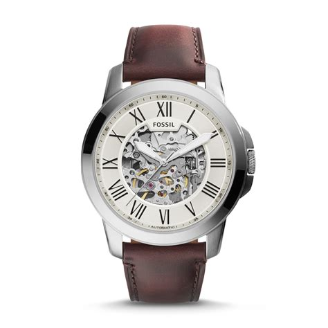Jam Tangan Fossil Me 3099 Grant Automatic Brown Leather fossil jual jam tangan original fossil guess daniel wellington victorinox tag heuer oris