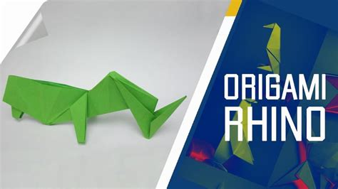 How To Make Origami Rhino - how to make an origami rhino 171 origami