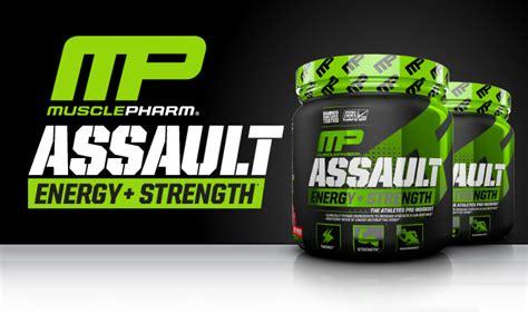 D8322 Assault Mp 30 Servings Mp Prework Out Ne Kode Rr8322 1 assault by musclepharm bodybuilding best prices