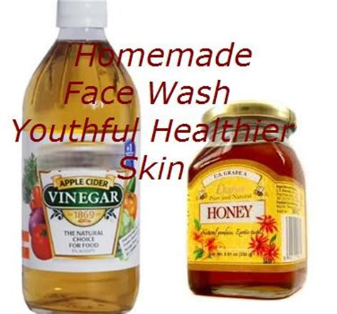 apple vinegar for face homemade healthy facial cleanser face wash