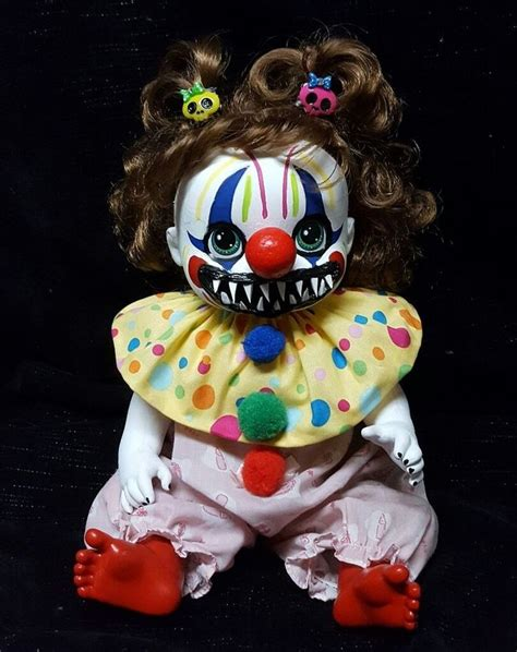 haunted killer doll baby killer clown horror doll haunted
