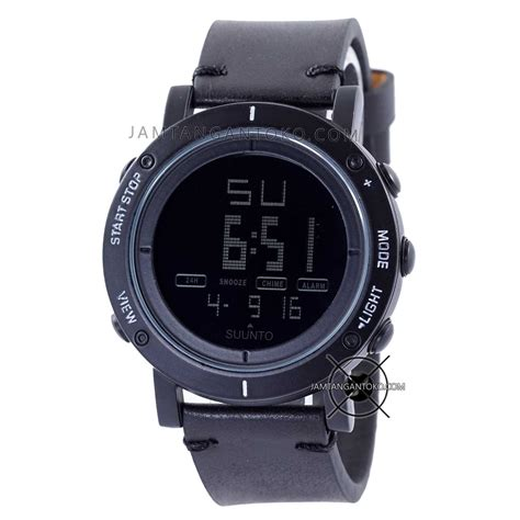 Jam Tangan Suunto Essential White Leather Platinum gambar jam tangan suunto essential black kulit kw