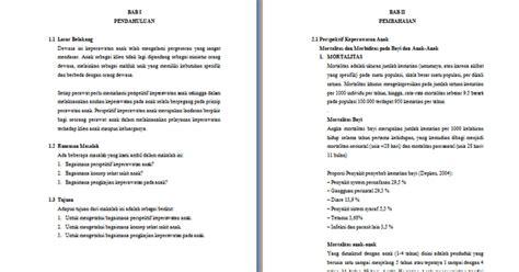 format asuhan keperawatan terbaru contoh makalah keperawatan tentang konsep keperawatan anak