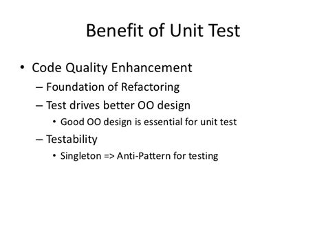 singleton pattern and unit testing test in action week 1