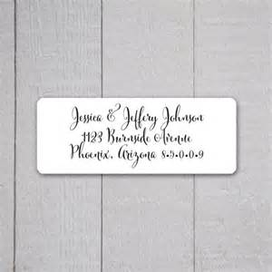 how to make mailing labels for wedding invitations wedding invitation return address labels wedding stickers