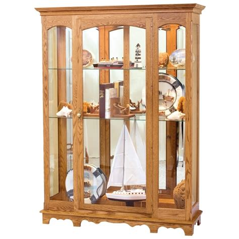 Large Curio Cabinet by Curio Cabinet Amish Large Curio Cabinet Country