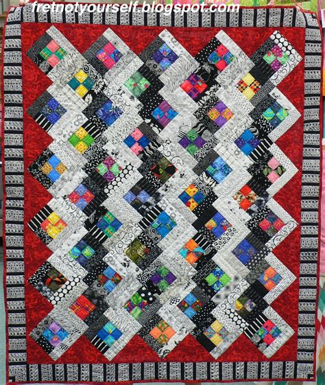 patchwork log cabin fret not yourself four patch log cabin quilts