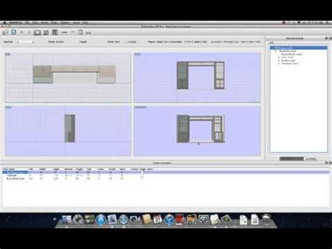 layout software mac sketchlist 3d woodworking design software for mac youtube