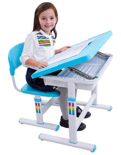 ergonomic desk and chair whitevan