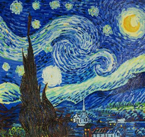 Vans Wolf Original gogh starry replica painting overstockart