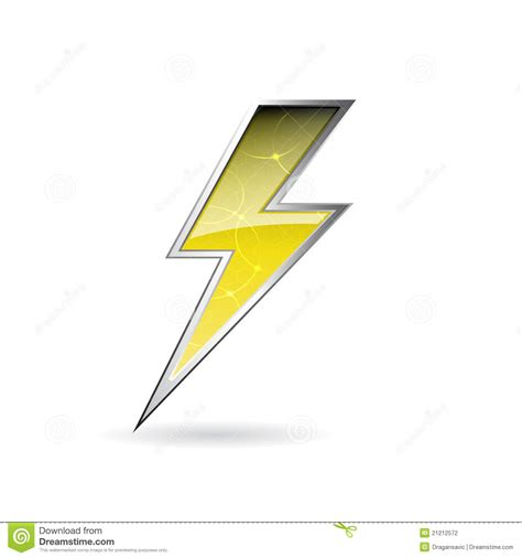 bolt pattern en francais lightning bolt stock photography image 21212572