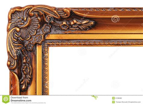 corner frame gold frame corner royalty free stock photos image 5138588
