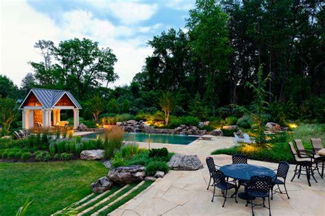 Landscape Architect Houzz Backyard Retreat Contemporary Landscape Dc Metro