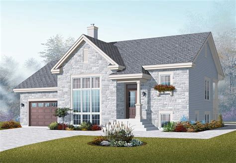 home palns split level house plans home design 3266