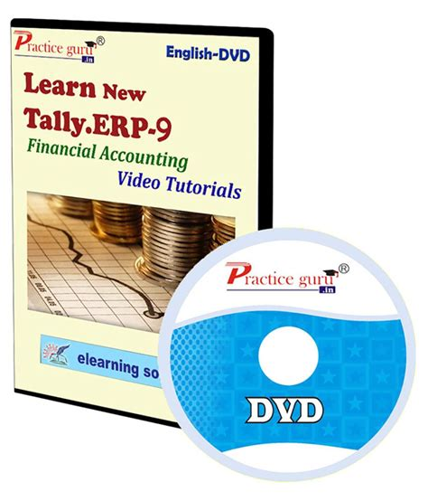 video tutorial for tally erp 9 tally erp 9 financial accounting video tutorial dvd buy