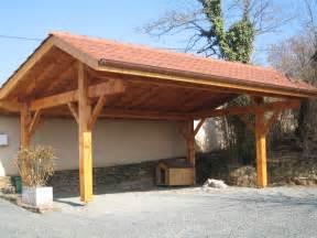 carport bois sur mesure d 233 couvrez nos abris de voiture en bois ou carport pour