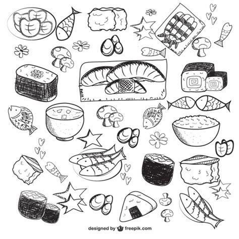 dibujo alimentos dibujos de alimentos descargar vectores gratis