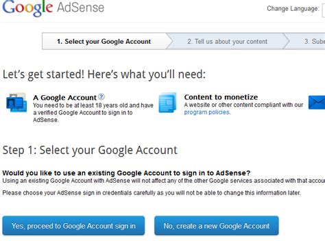 adsense eligibility making money online