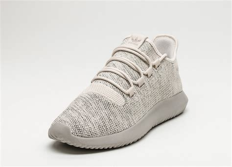 adidas tubular shadow knit clear brown light brown