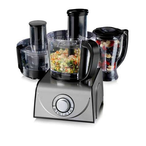 Blender National 3 In 1 tower t18001 professional 3 in 1 food processor blender