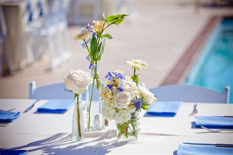 simple wedding reception centerpieces onewed