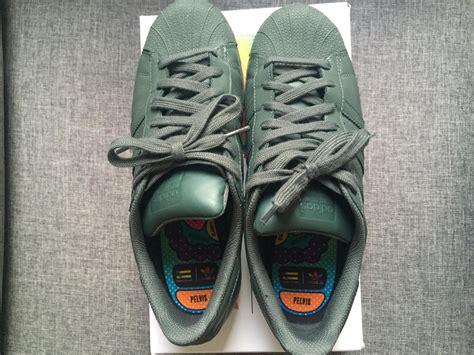 Sepatu Adidas Pharel William Original adidas superstar supercolor green