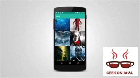 Android Glide by Tutorial Android Glide Image Library Geekonjava